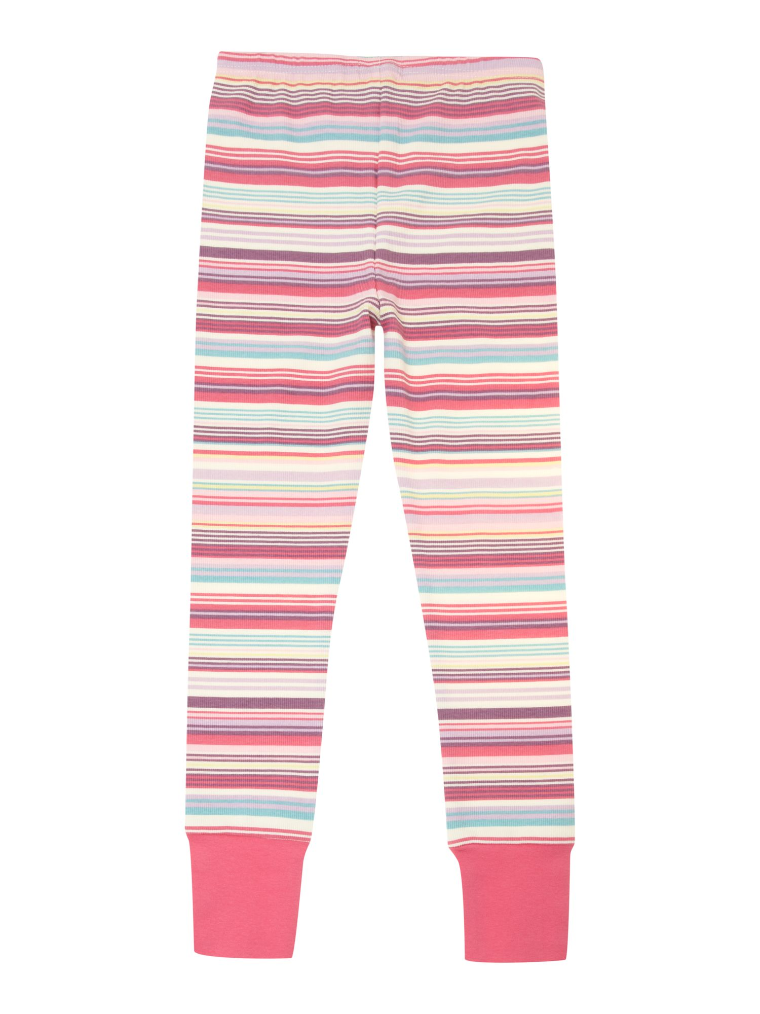 Girls multi stripe legging