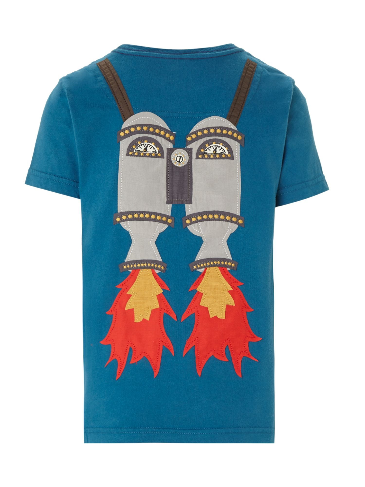 Boys rocket pack t-shirt
