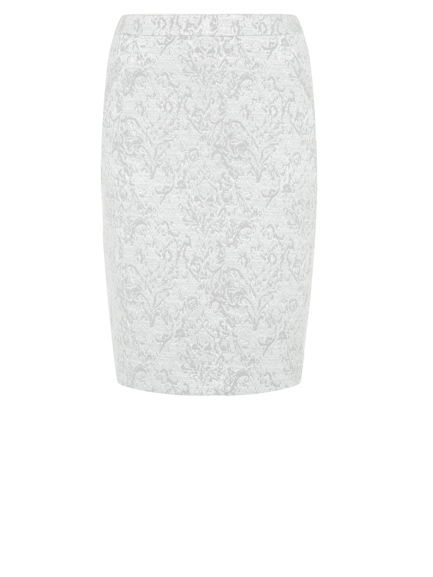 Sparkle jacquard skirt
