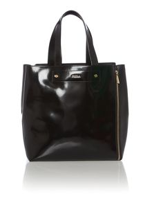 Musa black medium tote bag