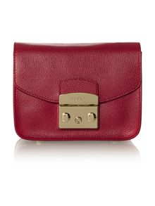 Metropolis pink mini cross body bag