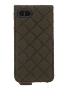 Quilted flip case iphone 5/5S