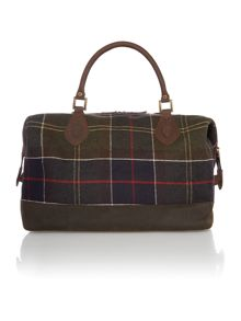 Barbour Tartan explorer holdall bag