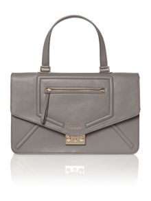 Alice grey medium cross body bag