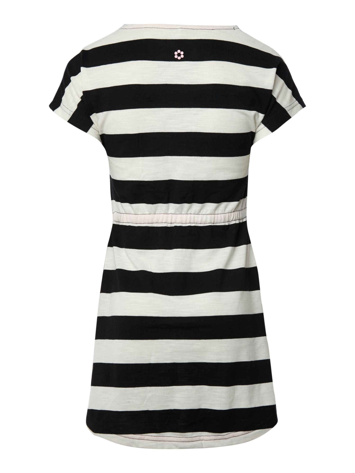 Girls striped woven dress