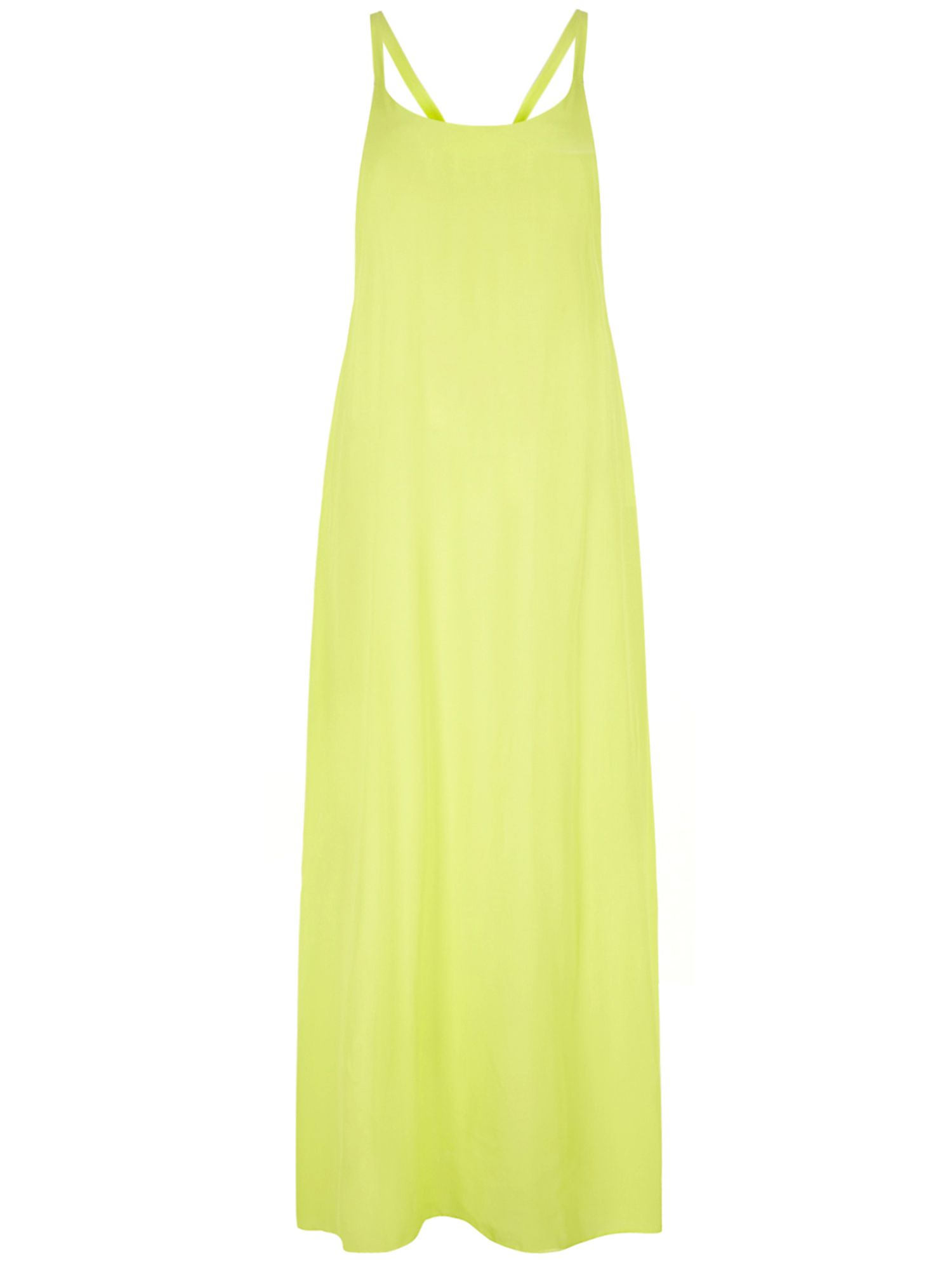 Tie back cami maxi dress