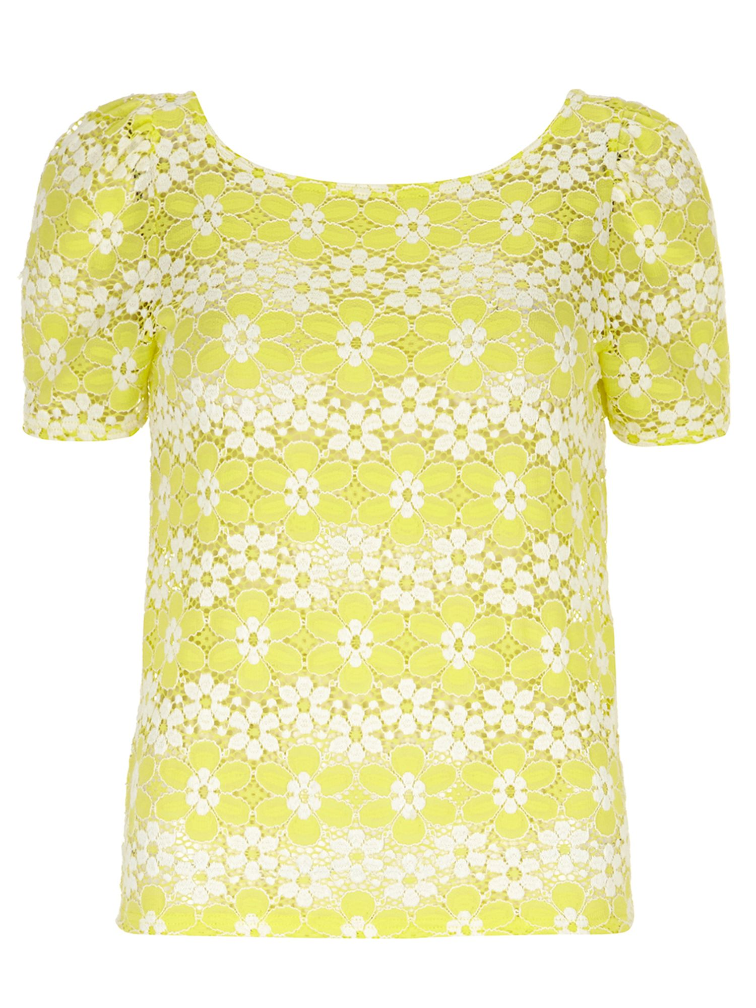 Daisy lace t-shirt