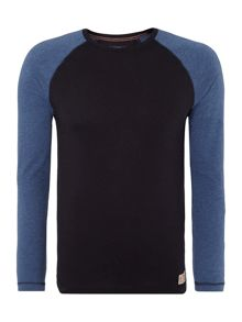 Walker raglan long sleeve top