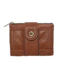 Gwen tan small flap over purse