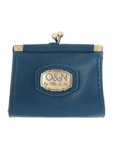 Kian blue small coin purse