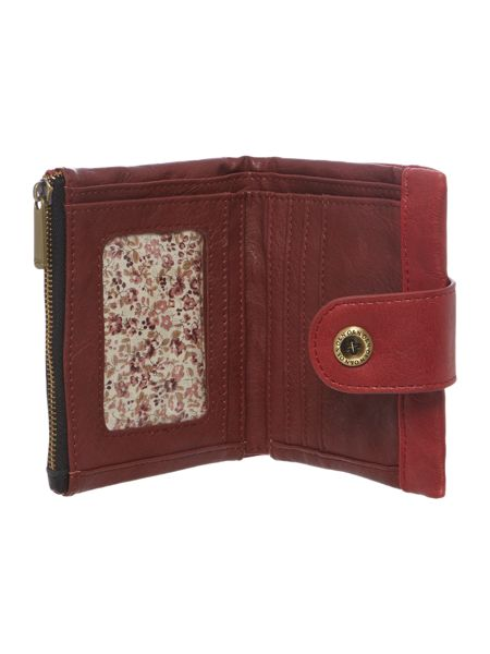 Ollie & Nic Gwen red small flap over purse