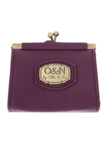 Kian purple small coin purse