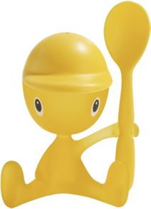 Alessi Cico Egg Cup & Spoon, Yellow