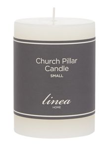 Small church candle