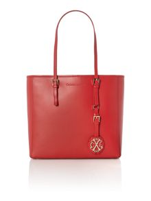 Pampille red tote bag