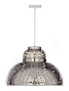 Fretwork Lantern Ceiling Light