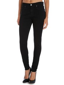 AG Jeans Farrah high-rise skinny jeans in Hideout
