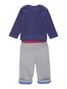 Baby boys bus jogger & t-shirt set