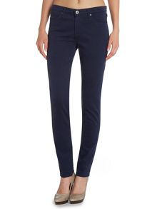 The prima cigarette slim jean in dark iris