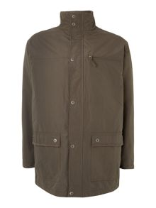 Quilted hunting jacket
