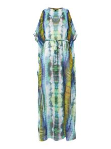 Heat wave maxi kaftan