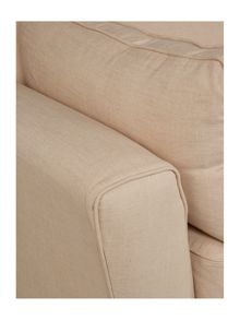 Loungy large sand sofa