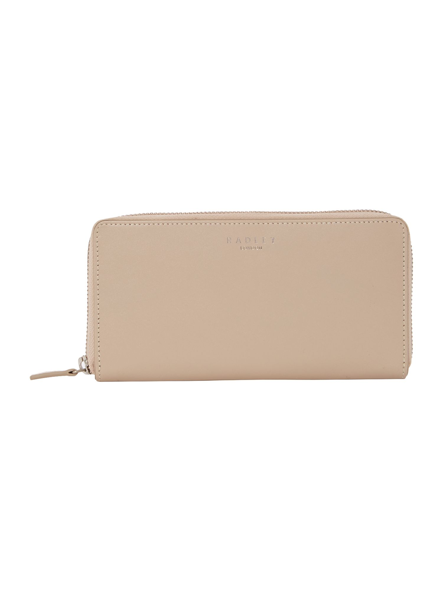 Bloomsbury neutral large zip around purse