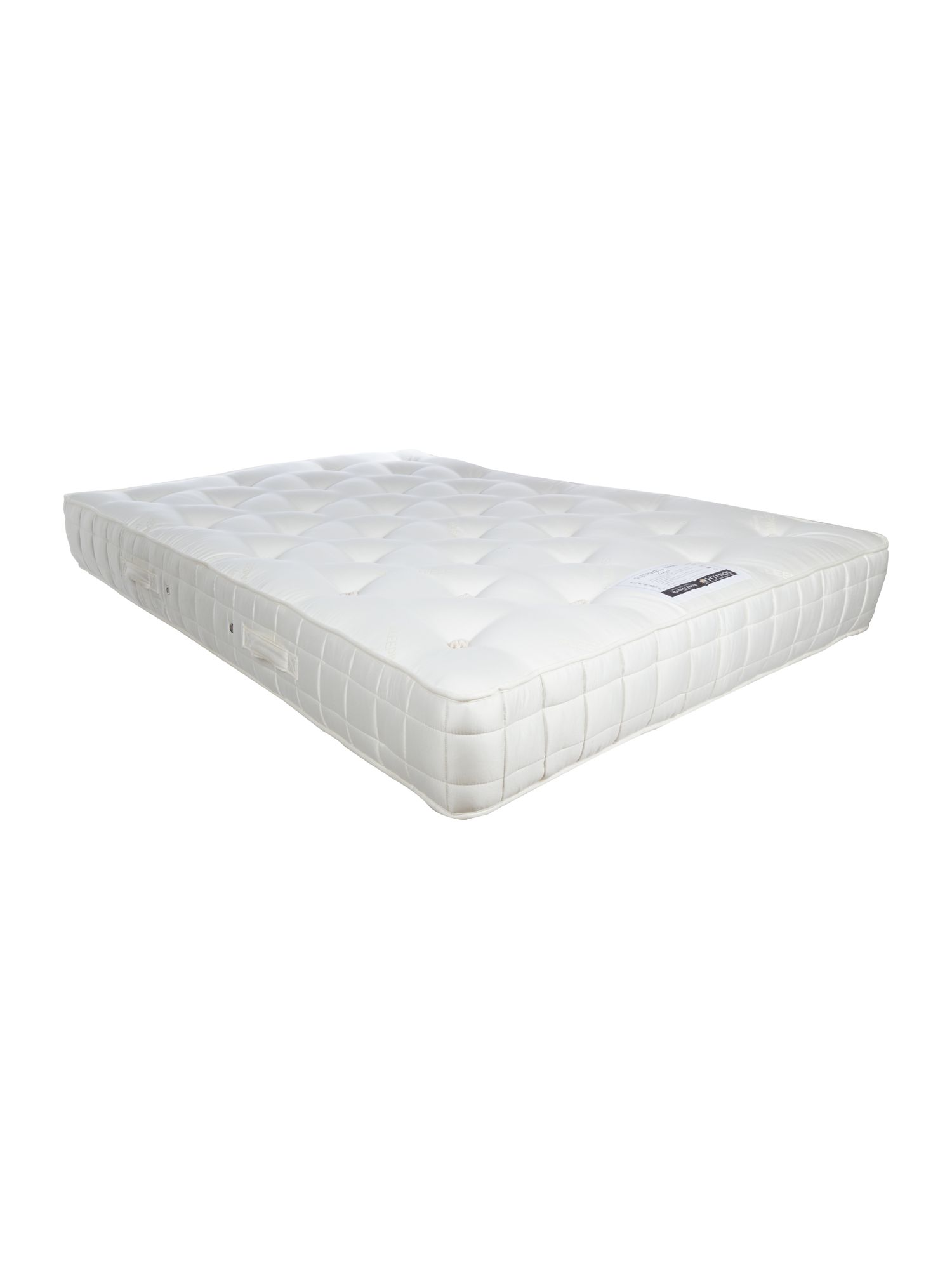 LINEA Home by Hypnos Sleepwell 1400 double mattress medium tension White