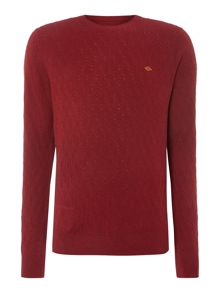 Kinnerton fine cable knit jumper
