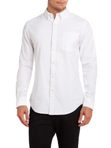 One pocket oxford shirt