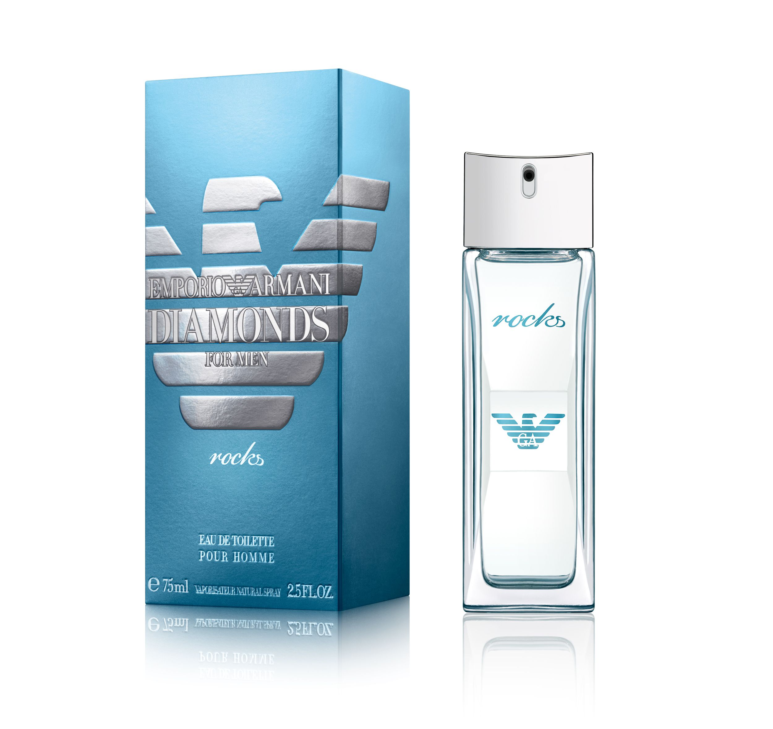 Emporio Armani Parfums Emporio Armani Parfums Diamonds Rocks Eau de Toilette 75ml