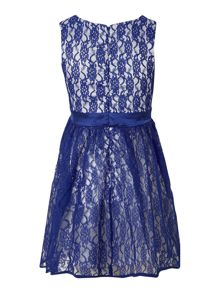 Girls all over lace dress