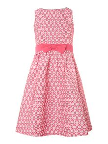 Girls all over teardrop print dress