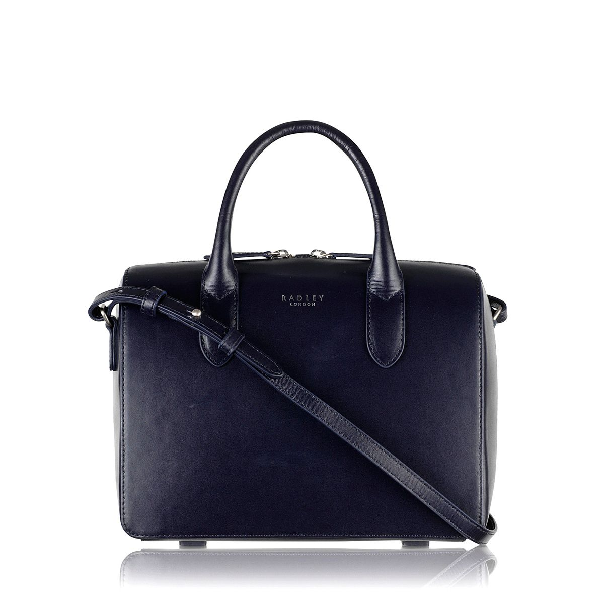 Bloomsbury navy small cross body bag