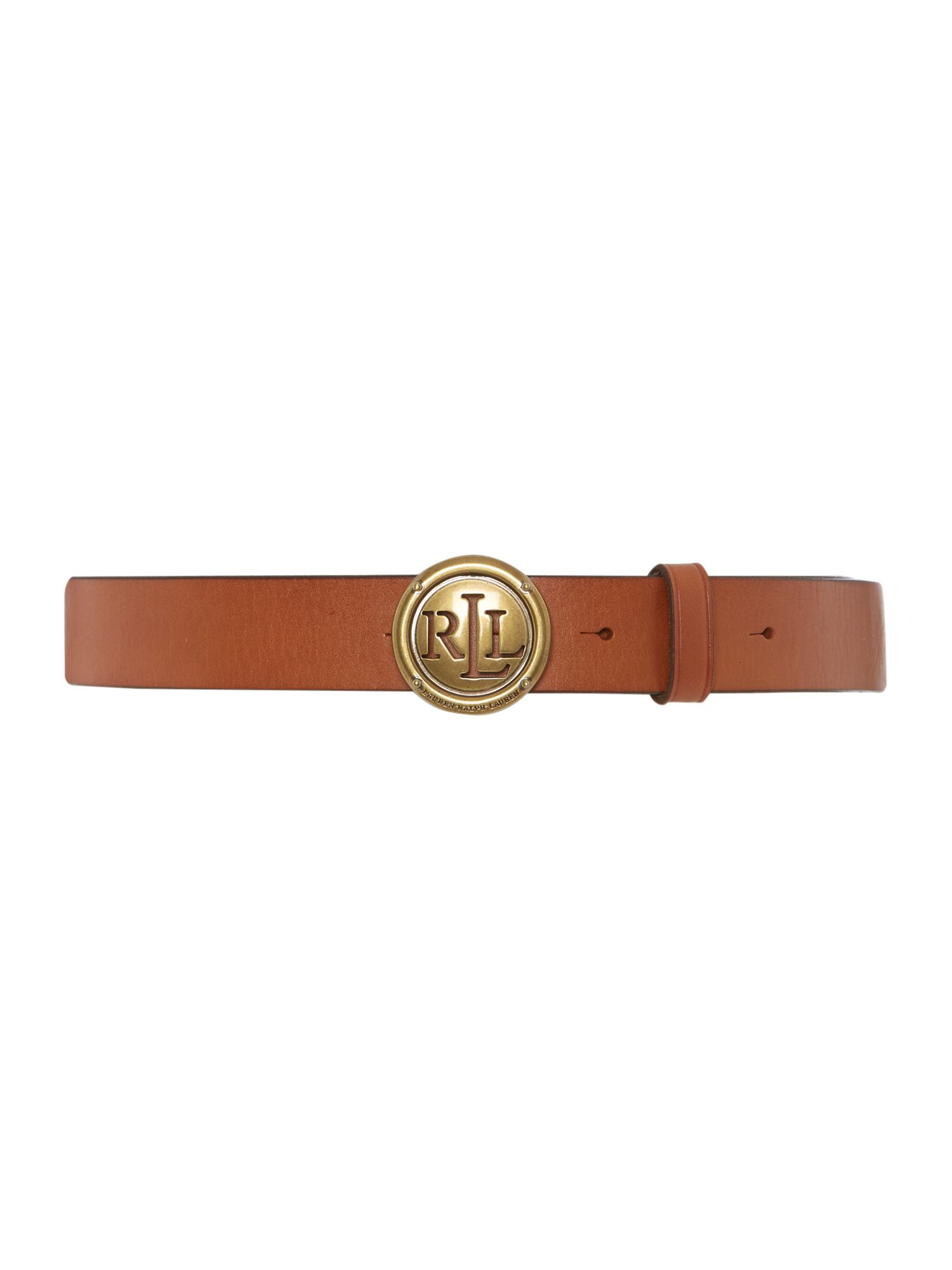 Lauren Classic tan leather belt