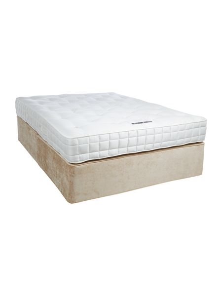 LINEA Home by Hypnos Sleepwell 1600 king sprung edge set champagne