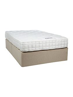 Sleepcare 1200 king sprung edge set biscuit