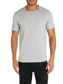 Button pocket t shirt