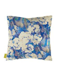 Imogen Heath Rosa Blue cushion 45 x 45cm