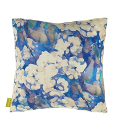 Imogen Heath Rosa Blue Cushion