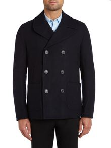 Paul Smith Jeans Double breasted peacoat