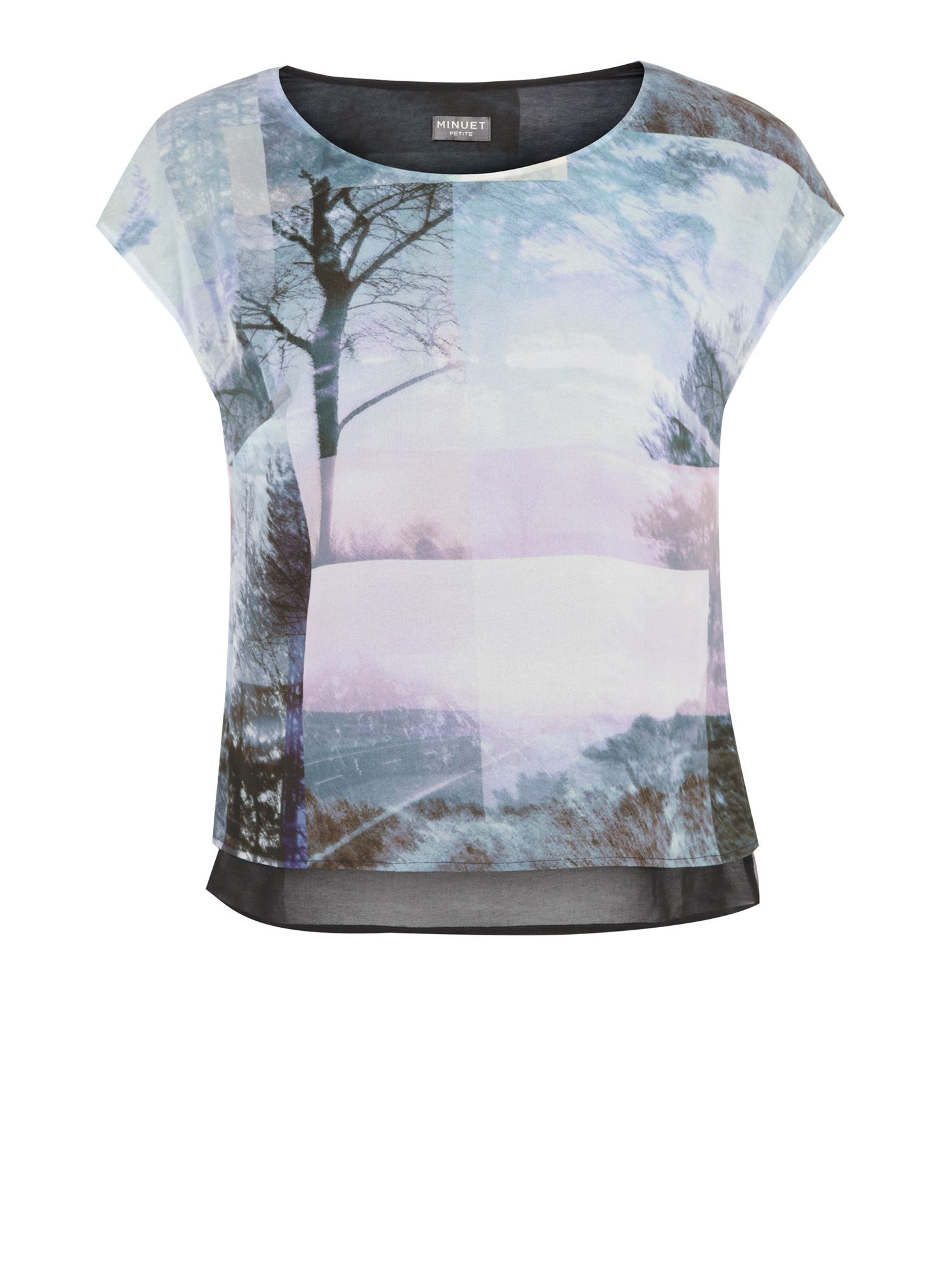 Autumn landscape blouse