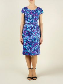 Waterlily print dress