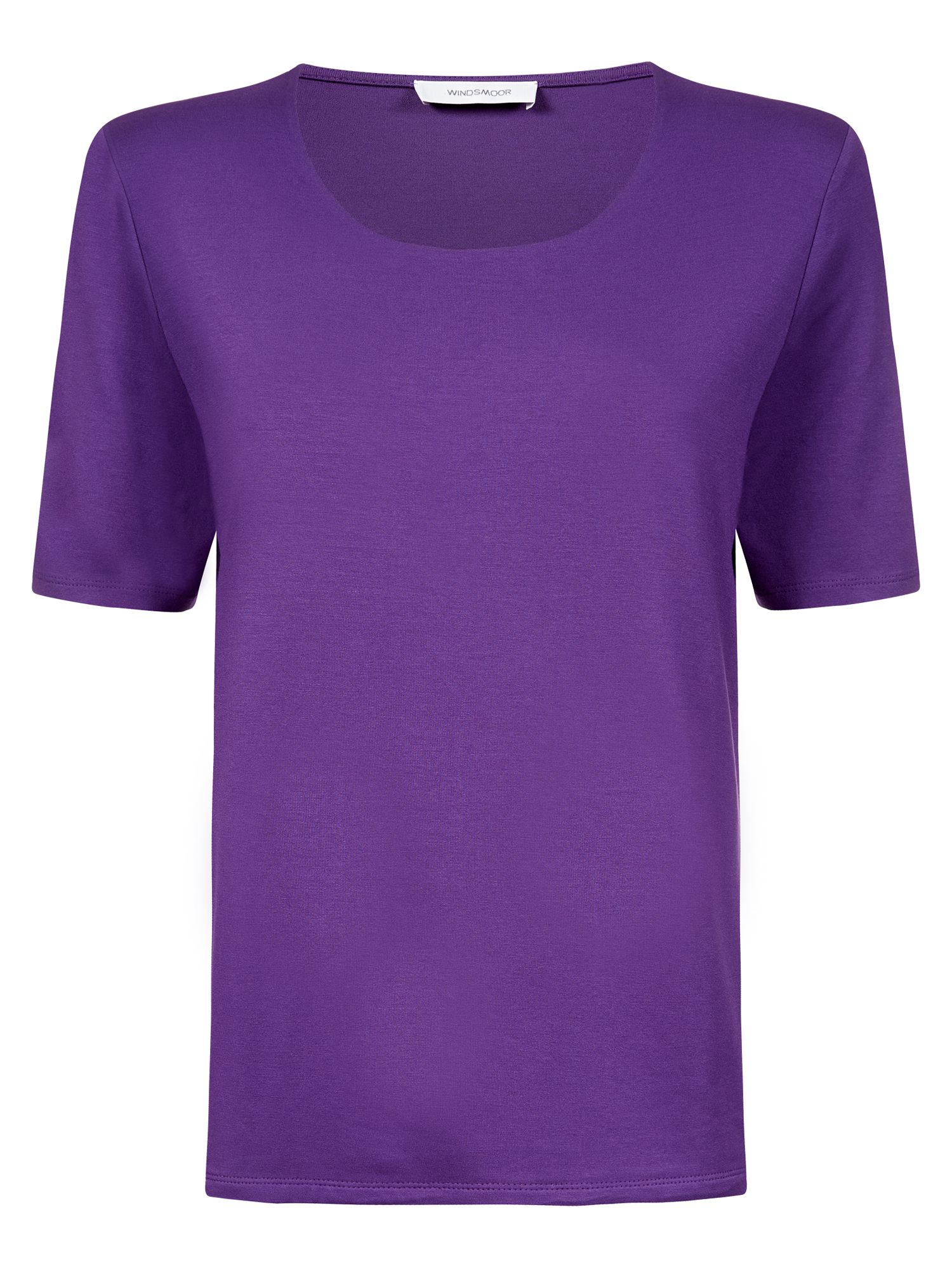 Purple basic top