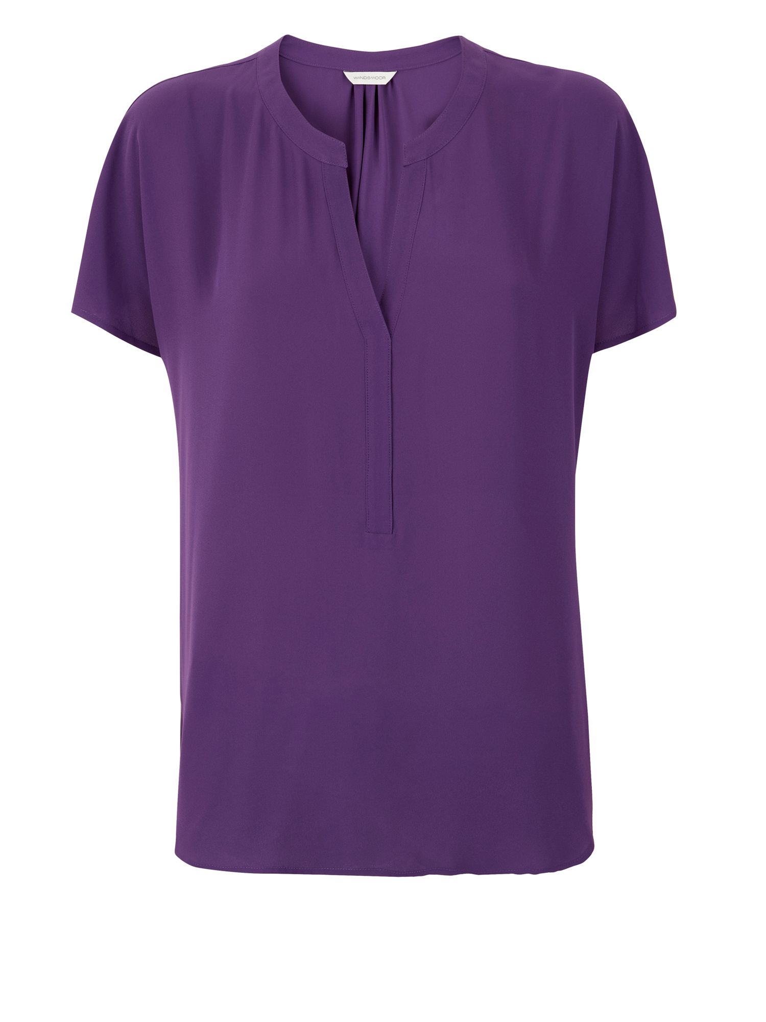 Windsmoor purple blouse