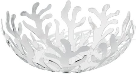 Alessi Mediterraneo Fruit Bowl, White, 29cm