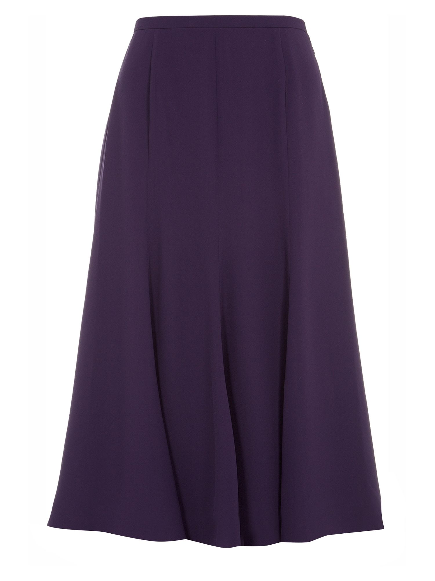 Fit and flare chiffon skirt