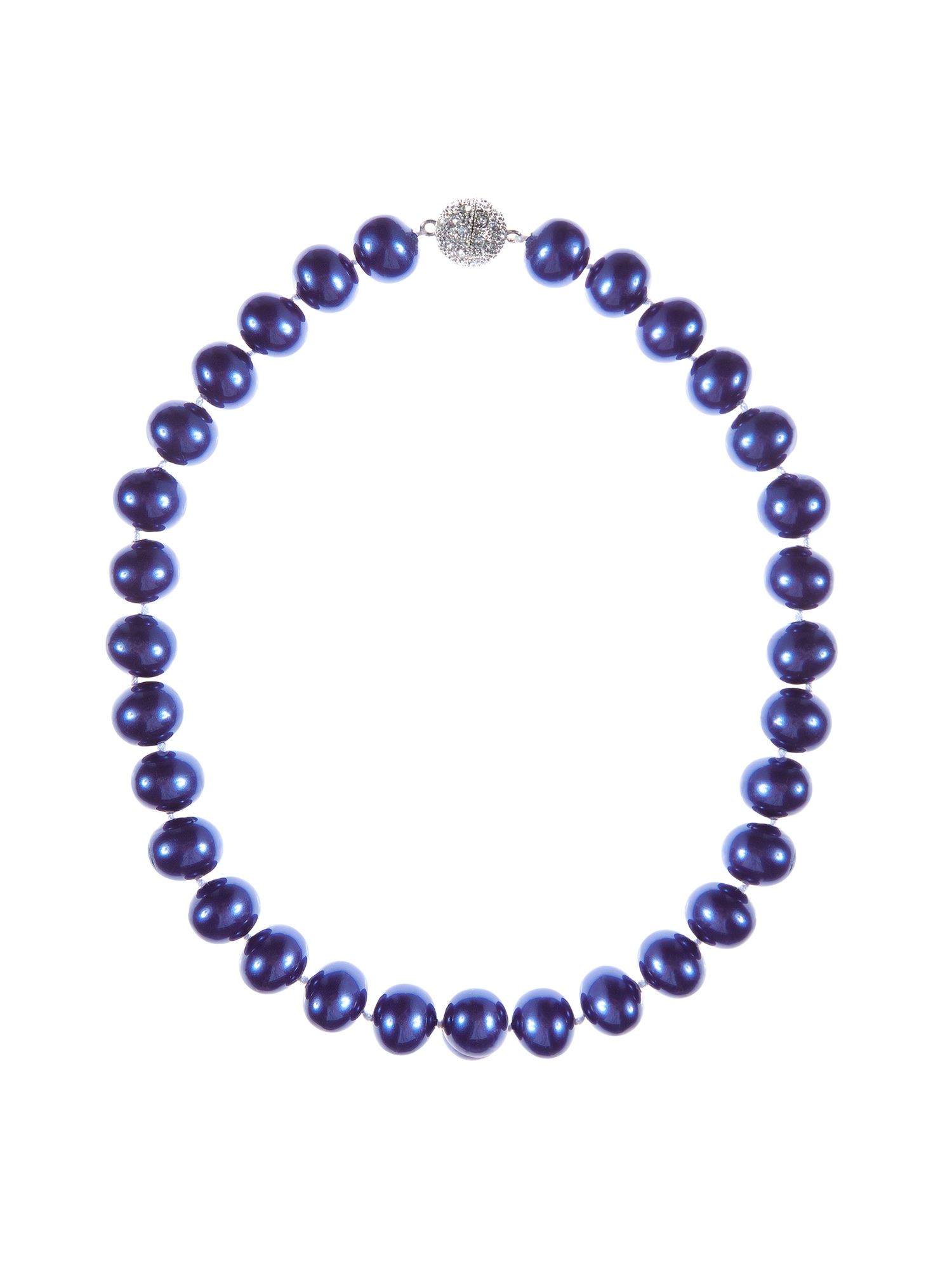 Damson pearl necklace