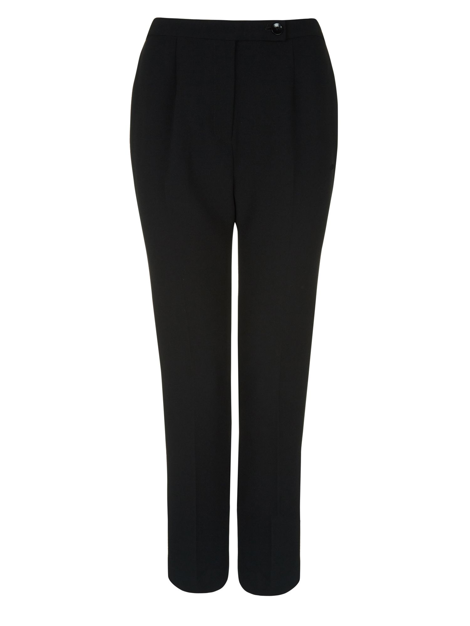 Textured crepe trouser