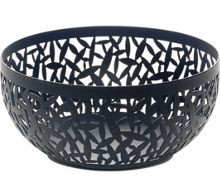 Alessi Cactus! Fruit Bowl, Black, 21cm